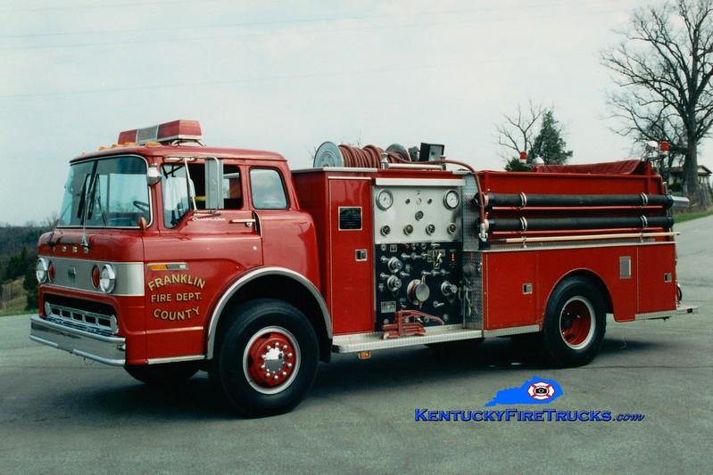 <center> RETIRED <br> Franklin County  Engine 6 <br> 1981 Ford C/Jaco 1000/750 <br> Greg Stapleton photo </center>
