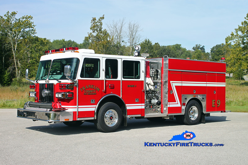 <center> RETIRED <br> Franklin County  Engine 9 <br> 2012 Sutphen Shield 1500/1000/30 <br> Kent Parrish photo </center>