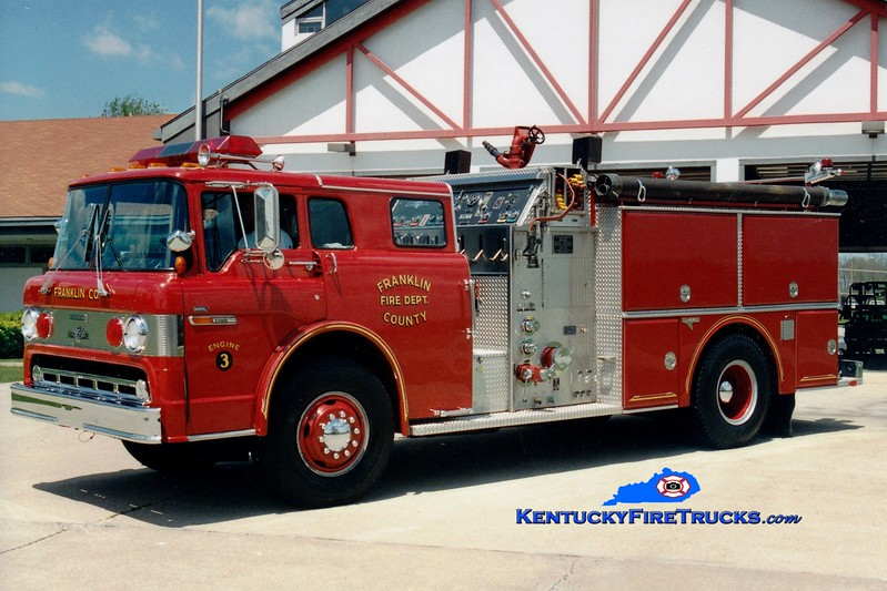 <center> RETIRED <br> Franklin County  Engine 3 <br> 1988 Ford C/Grumman 1000/1000 <br> Greg Stapleton photo </center>