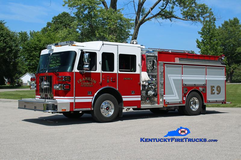 Franklin County  Engine 9<br /> 2016 Sutphen Shield 1500/1000/30<br /> Kent Parrish photo