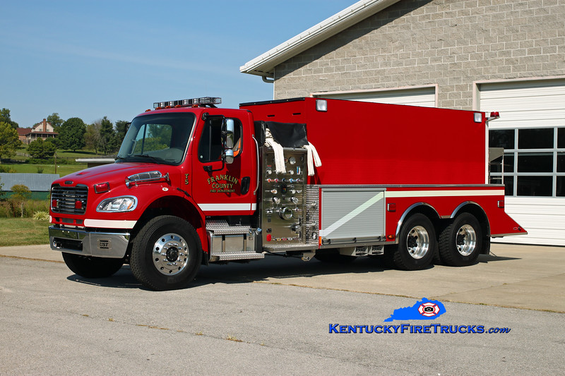 Franklin County  Tanker 5<br /> 2012 Freightliner M2-106/US Tanker 1000/3000<br /> Kent Parrish photo