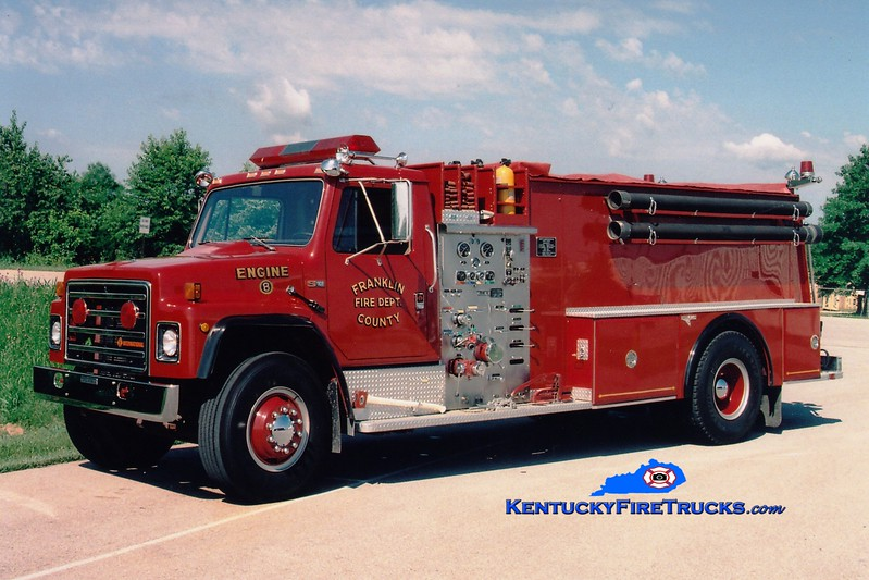 <center> RETIRED <br> Franklin County  Engine 8 <br> 1987 International S/Grumman 1000/1500 <br> Greg Stapleton photo </center>