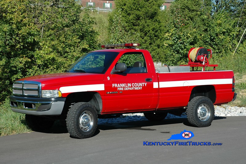 Franklin County  Brush 9<br /> 2000 Dodge 2500 4x4/FD 250/200<br /> Greg Stapleton photo