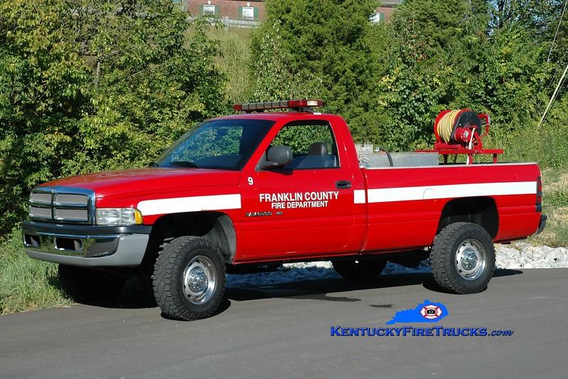 Franklin County  Brush 9<br /> 2000 Dodge 2500 4x4/FD 250/200<br /> Greg Stapleton photo