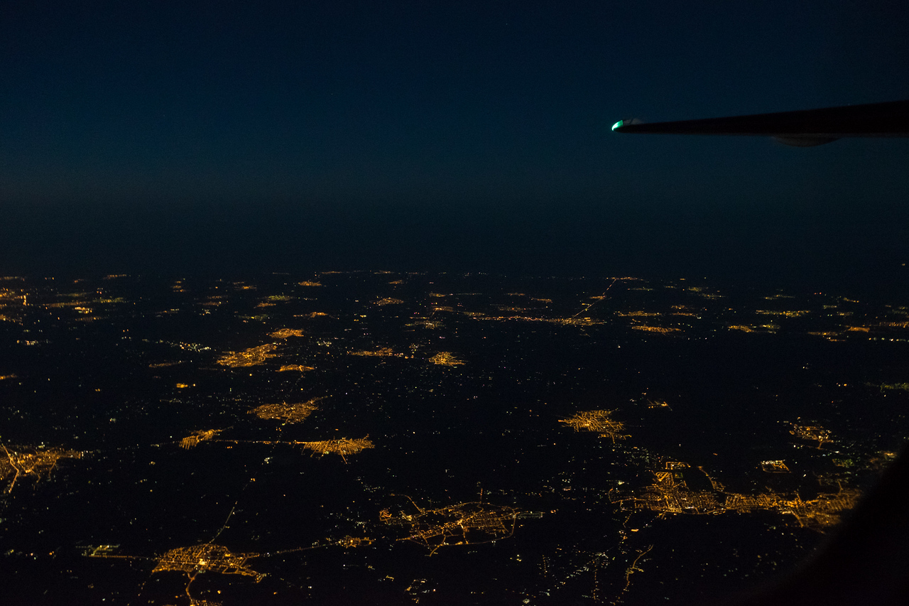 Apulia by night