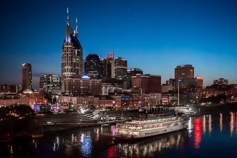 Nashville nighttime