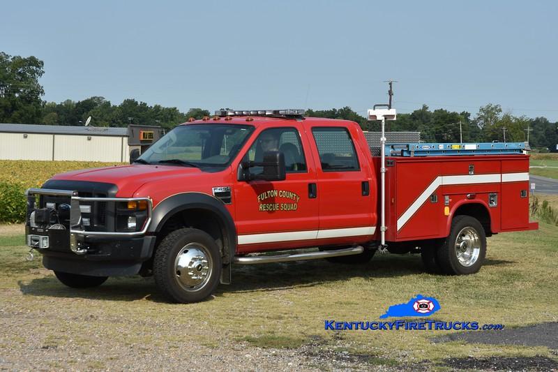 Fulton County Rescue 7191<br /> x-Fulton County Rescue Squad <br /> 2008 Ford F-450 4x4/Knapheide <br /> Greg Stapleton photo