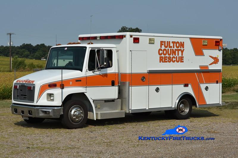 Fulton County Rescue 7192<br /> x-Fulton County Rescue Squad <br /> 1996 Freightliner FL60/Life Line<br /> Greg Stapleton photo