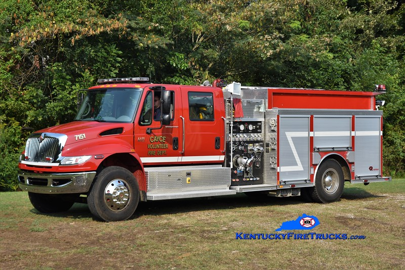 Fulton County Engine 7151<br /> x-Cayce  FD <br /> 2008 International 4400/Rosenbauer-Central States 1250/1000<br /> Greg Stapleton photo