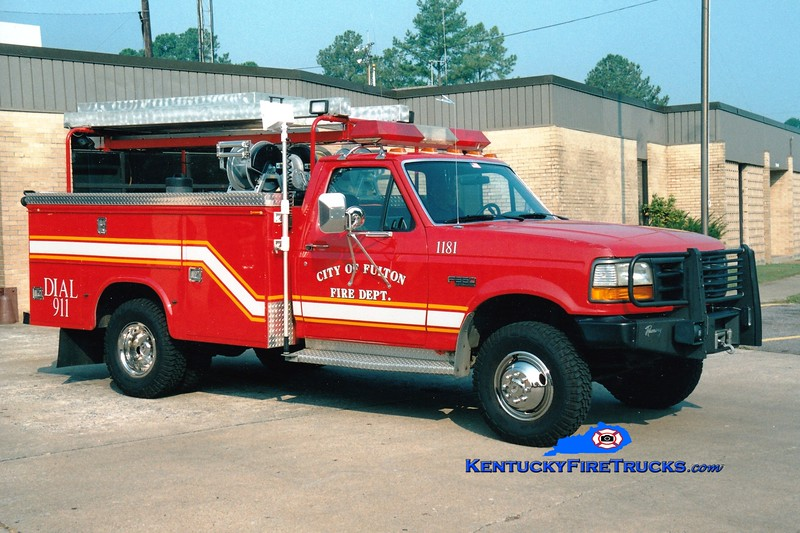 <center> RETIRED  <br> Fulton  Rescue 1181  <br> 1992 Ford F-350 4x4/Stewarts 250/200 <br> Greg Stapleton photo </center>