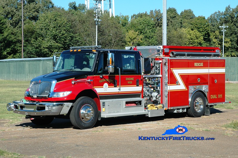 <center> Fulton  Engine 1152  <br> 2014 International 4400/Ferrara 1250/750/20 <br> Greg Stapleton photo </center>