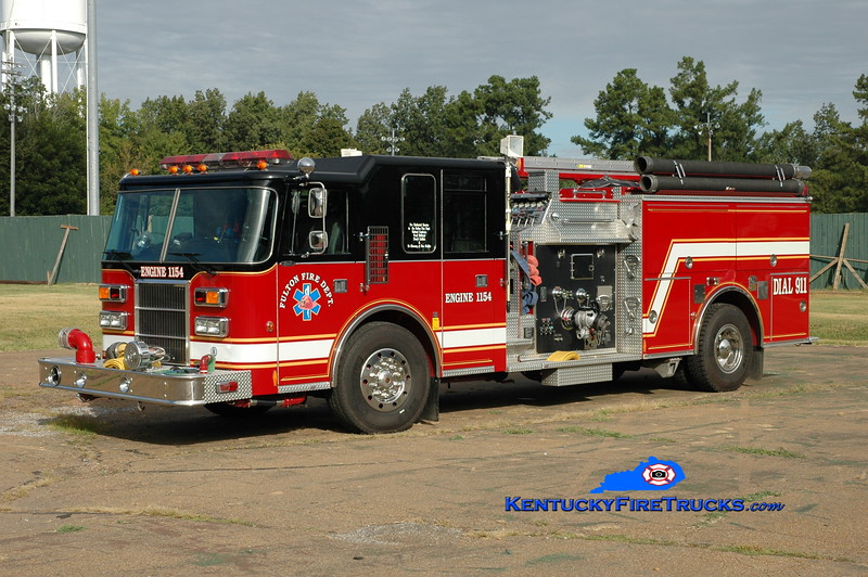 <center> Fulton  Engine 1151  <br> x-Wall Twp, NJ; x-Engine 1154 <br> 1996 Pierce Dash 1500/750 <br> Greg Stapleton photo </center>