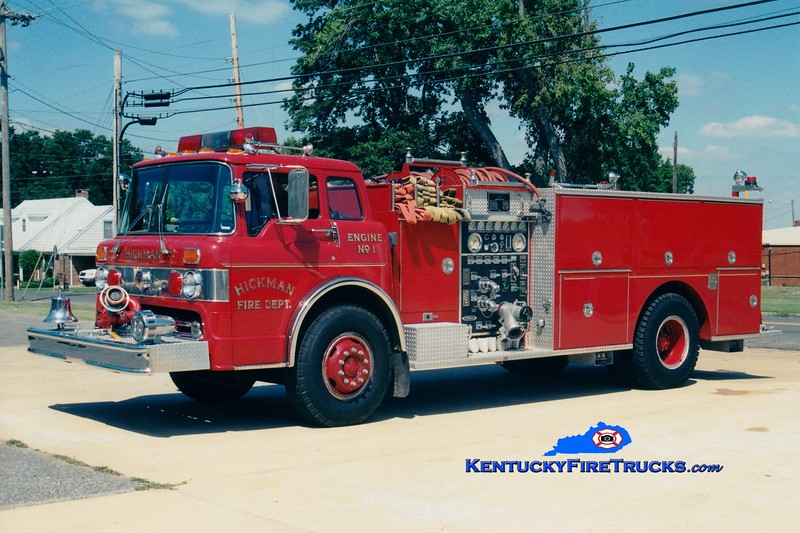 <center> Hickman  Engine 5151  <br> 1982 Ford C/Pierce 1000/750 <br> Greg Stapleton photo </center>