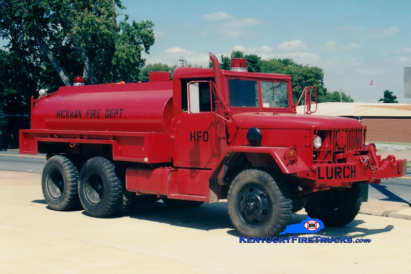 <center> Hickman  Tanker 5170  <br> 1977 AM General M35 6x6/HFD 250/1000  <br> Greg Stapleton photo </center>