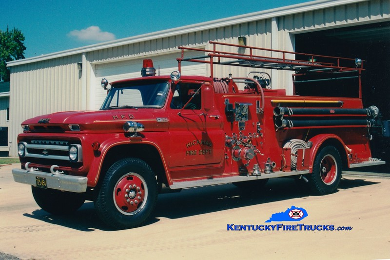 <center> Hickman  Engine 5154  <br> 1965 Chevy/Howe 750/500 <br> Greg Stapleton photo </center>