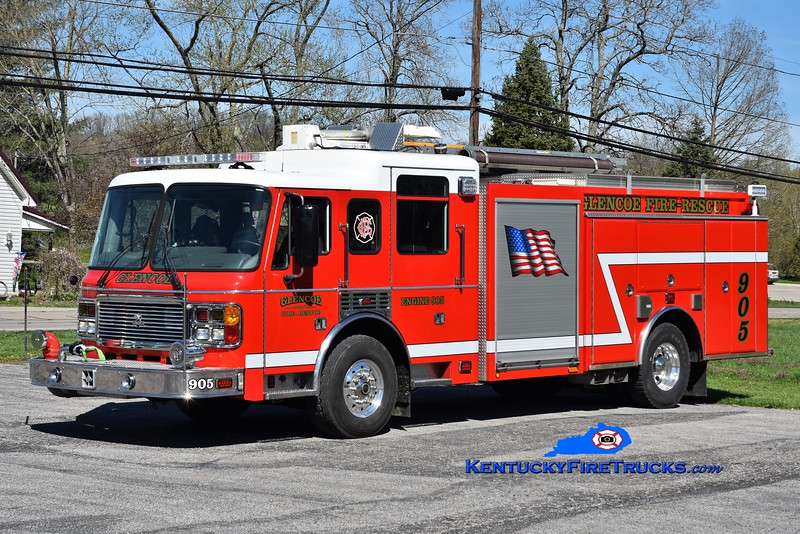 Glencoe  Engine 905<br /> 2003 American LaFrance Eagle/Alexis 2000/1000/40<br /> Greg Stapleton photo