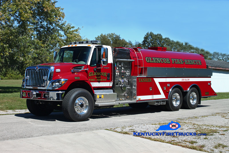 <center> Glencoe  Tanker 903 <br> 2010 International 7500/US Tanker 750/3500 <br> Kent Parrish photo </center>