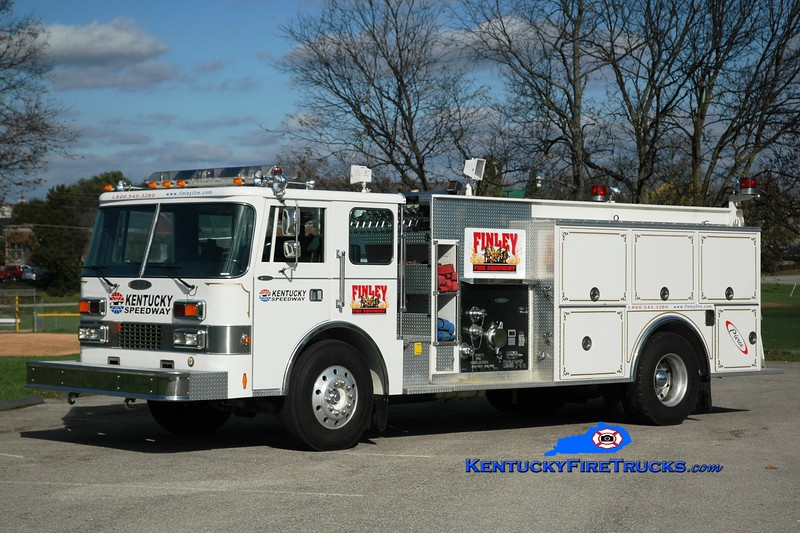 Kentucky Speedway/Finley Fire Equipment <br /> x-Caldwell, OH <br /> 1989 Pierce Dash 1250/750<br /> Greg Stapleton photo