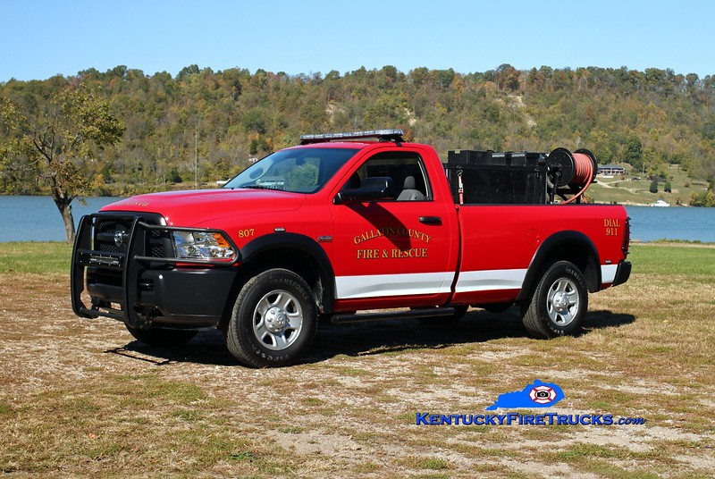 Gallatin County  Brush 807<br /> 2014 Dodge 2500 4x4/FD 250/200/5/5<br /> Kent Parrish photo