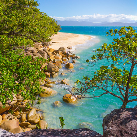 Nudie Beach, Fitzroy Island, Queensland Australia