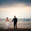 Wedding Couple on Shore