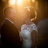 Bride & Groom Warm Light