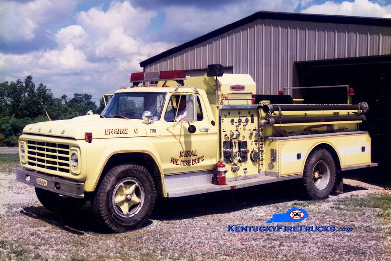 <center> RETIRED <br> Buckeye  Engine 606 <br> 1974 Ford F/Bean 750/750 <br> Greg Stapleton photo </center>