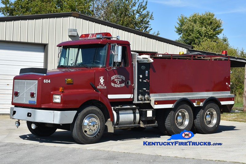 Buckeye  Tanker 604<br /> 1990 White-GMC/Wynn 250/2000<br /> Greg Stapleton photo