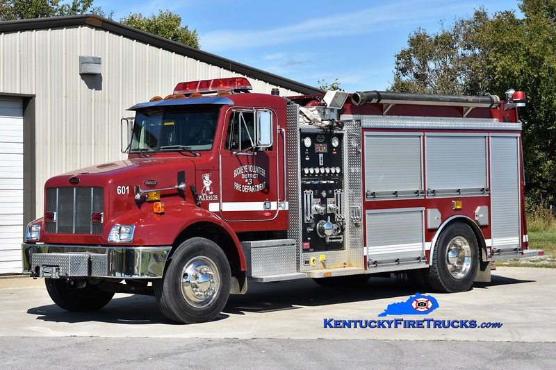 Buckeye  Engine 601<br /> 2004 Peterbilt/Wynn 1000/1300<br /> Greg Stapleton photo