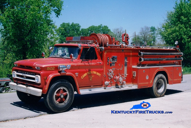 <center> RETIRED <br> Camp Dick  Engine 502 <br> x-Atlantic City, NJ <br> 1964 Chevy/Oren 750/1000 <br> Greg Stapleton photo </center>