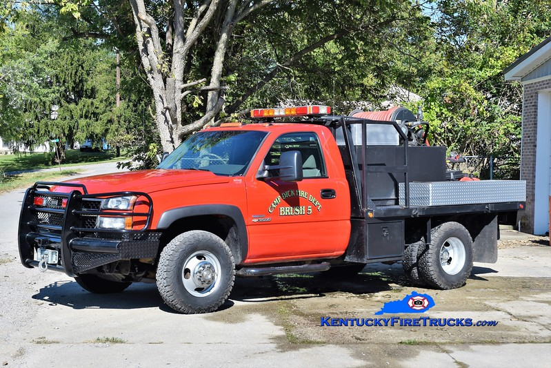 Camp Dick  Brush 5<br /> 2006 Chevy 3500 4x4/Fast Attack 250/250<br /> Greg Stapleton photo