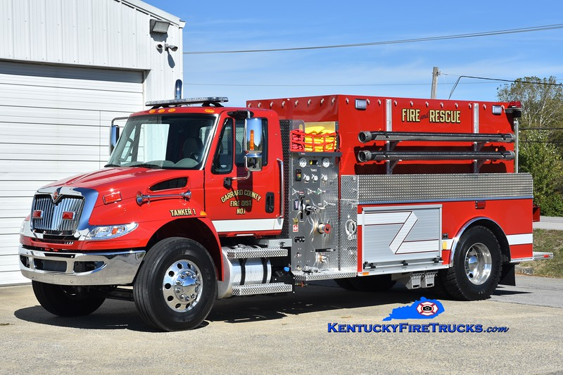 Garrard County Fire Dist. 1 Tanker 1<br /> 2019 International 4400/Southeast 500/2000<br /> Greg Stapleton photo