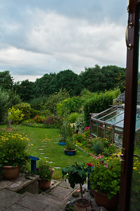 Garden from inside, by Chris-3