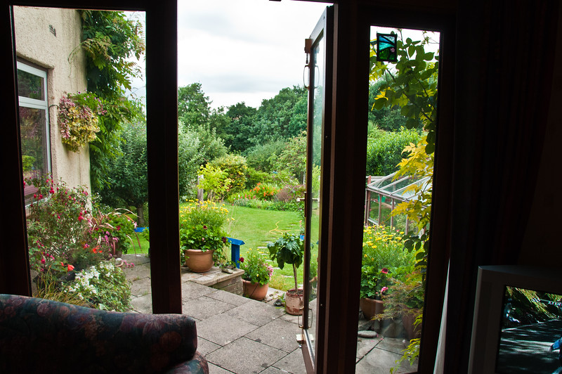 Garden from inside, by Chris-1