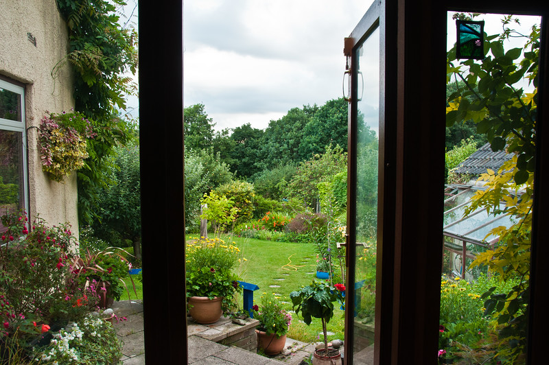 Garden from inside, by Chris-2