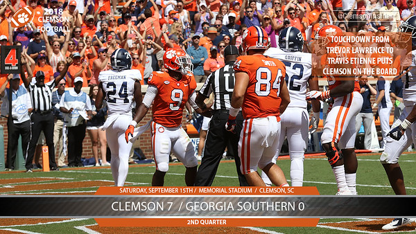 Georgia Southern at Clemson photo gallery