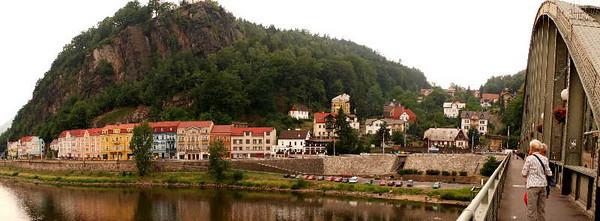 Old town Dĕčín (Tetschen)<br /> Dĕčín, Czech Republic<br /> <br /> P173