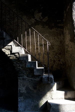 Staircase medieval<br /> Braunfels, Germany<br /> <br /> P324