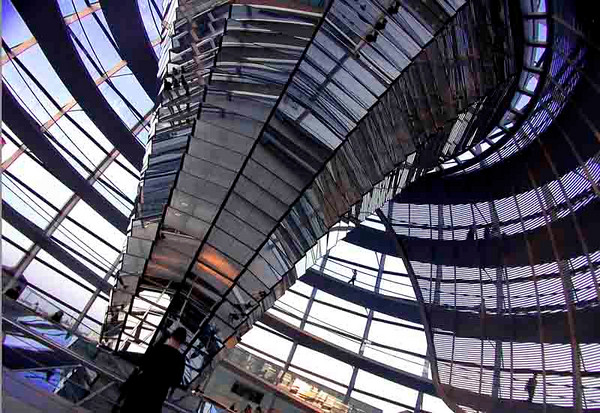 Reichstag cuppola<br /> Berlin<br /> <br /> P026