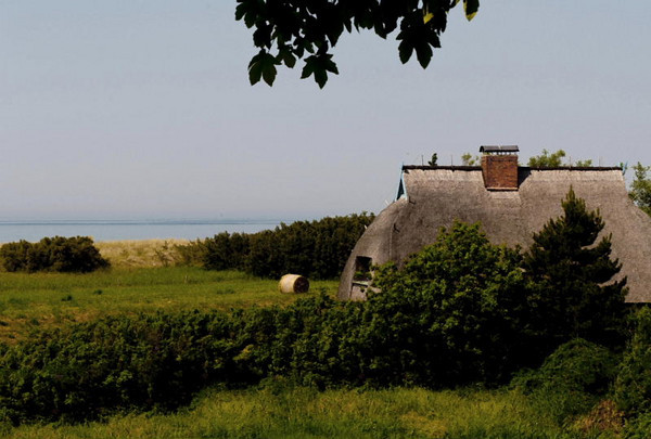 Farmstead with hay<br /> Baltic coast, Germany<br /> <br /> P269