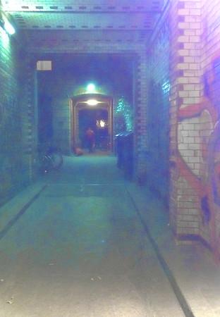 Kreuzberg passage, Berlin<br /> <br /> P377