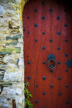 Medieval door<br /> Braunfels, Germany<br /> <br /> P323