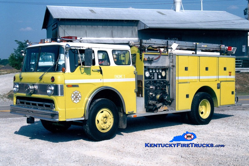 <center> RETIRED <br> Corinth Engine 106 <br> x-Seminole, FL <br> 1975 Ford C/Pierce 1000/350 <br> Greg Stapleton photo </center>