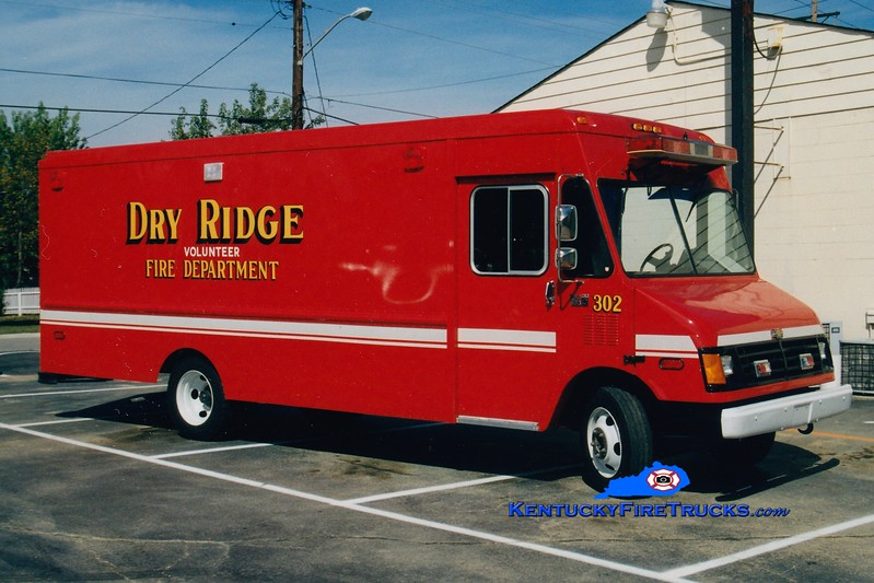 RETIRED <br /> Dry Ridge  Rescue 302<br /> 1990 Chevy<br /> Greg Stapleton photo