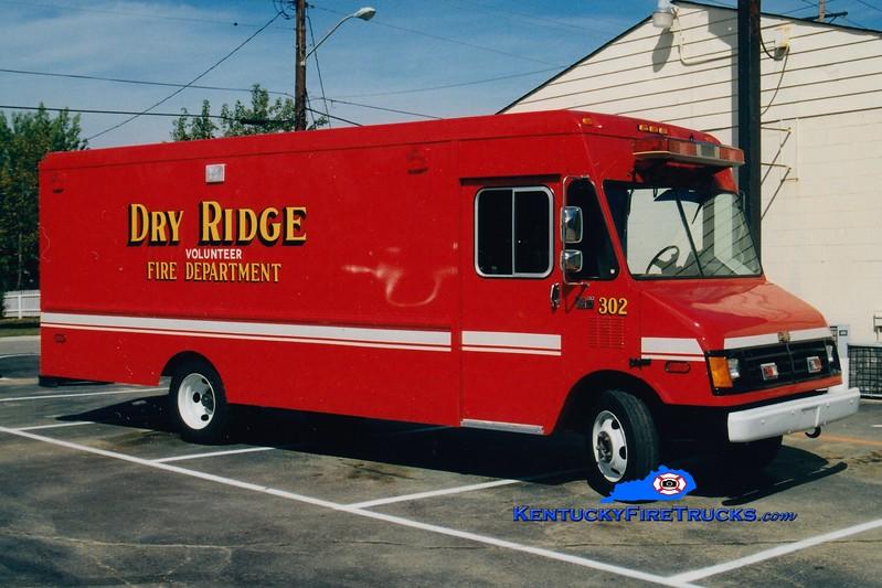 RETIRED <br /> Dry Ridge  Rescue 302<br /> 1990 Chevy<br /> Greg Stapleton photo