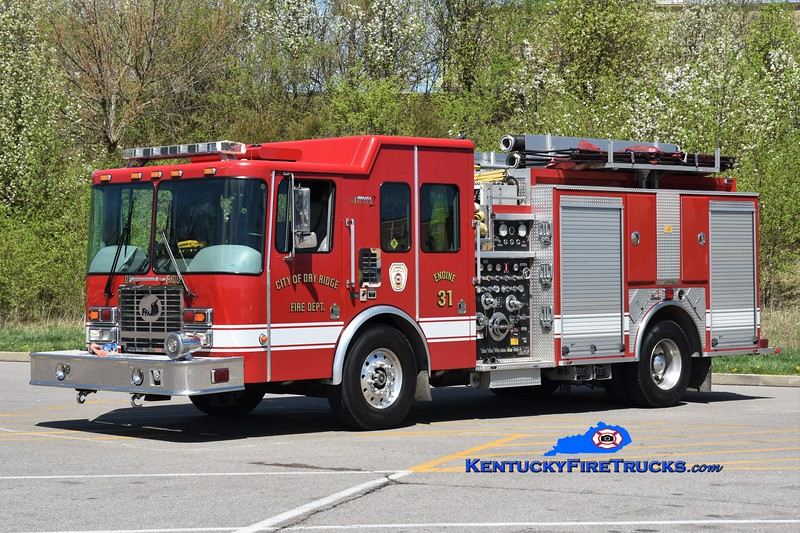 Dry Ridge Engine 31 <br /> x-Engine 306 <br /> 2004 HME/Ferrara Intruder 2 1250/1000 <br /> Greg Stapleton photo
