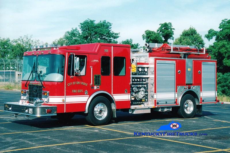 <center> Dry Ridge Engine 31 <br> x-Engine 306 <br> 2004 HME/Ferrara Intruder 2 1250/1000 <br> Greg Stapleton photo </center>