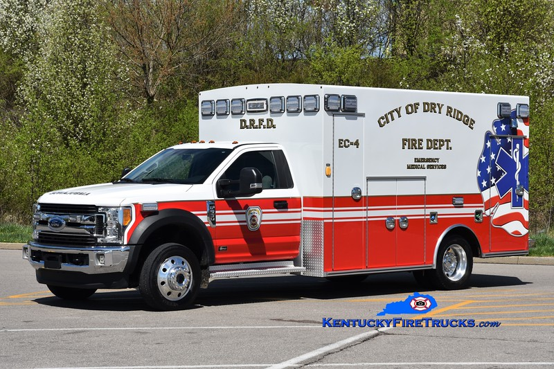 Dry Ridge  Emergency Care 4<br /> 2018 Ford F-450/Excellance<br /> Greg Stapleton photo