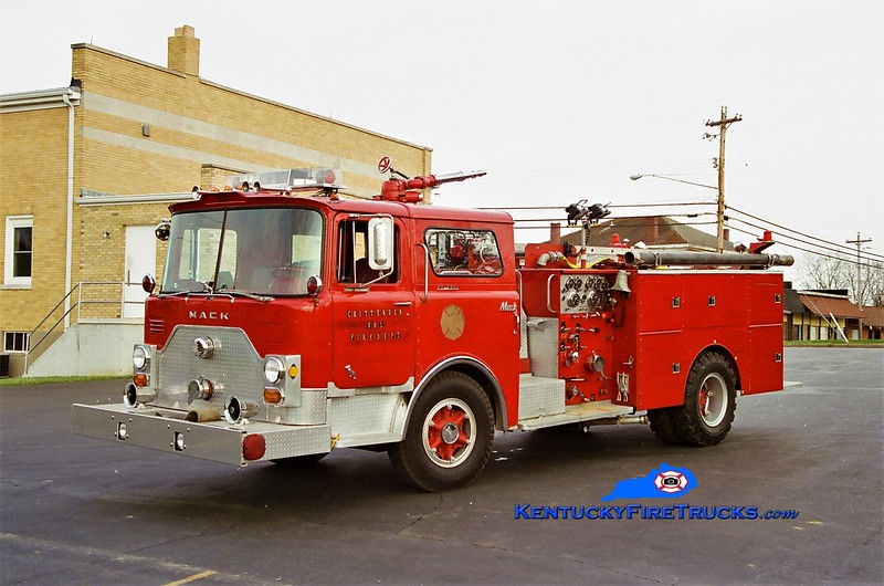 RETIRED <br /> Crittenden Engine 203 <br /> x-FDNY; Southern Campbell, KY <br /> 1971 Mack CF/1982 Summit 1000/600 <br /> Greg Stapleton photo