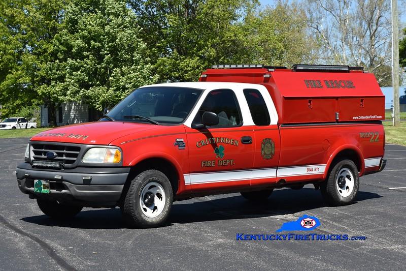 Crittenden Truck 22<br /> 2003 Ford F-150 4x4<br /> Greg Stapleton photo